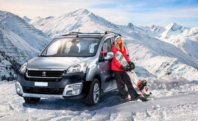 Peugeot Partner winter